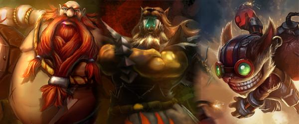 League of Legends: Gragas, Udyr und Ziggs im Angebot