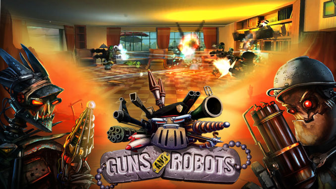 Guns and Robots Gameplay (auf Deutsch)