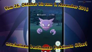 Halloween Event in Pokémon GO