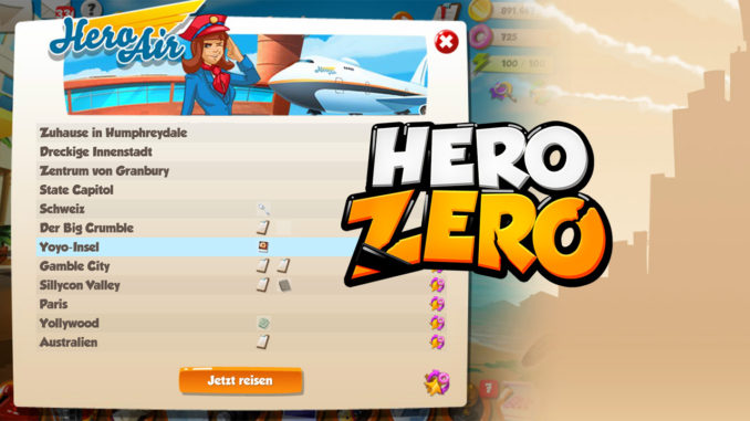 Hero Zero Update bringt Hero Air