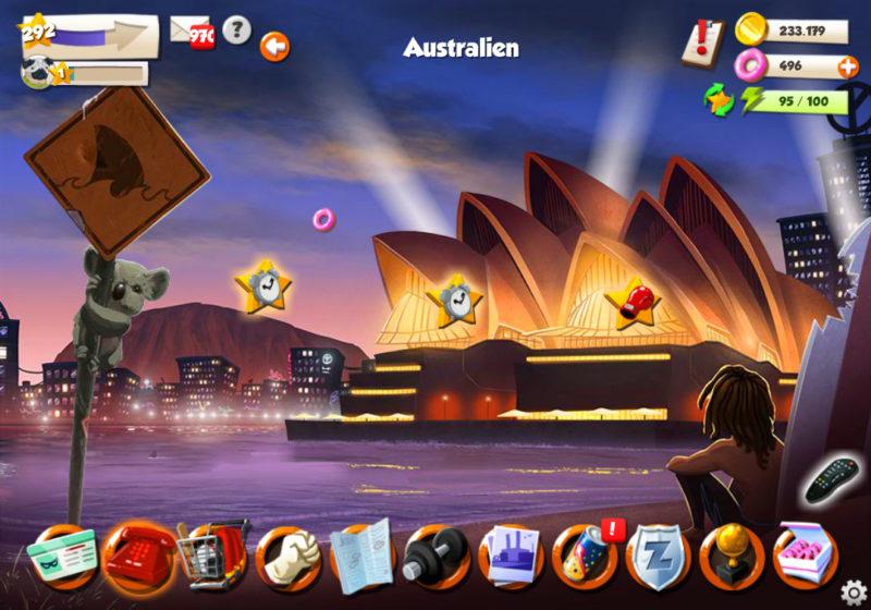Hero Zero Australien