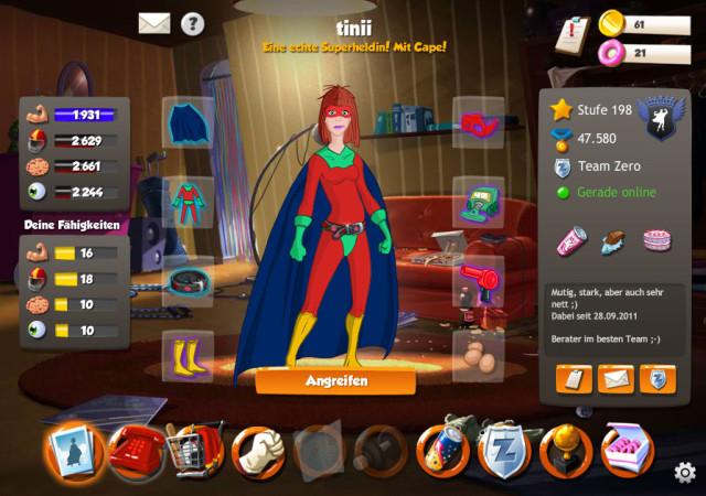 Hero Zero Online Game, kostenloses Rollenspiel