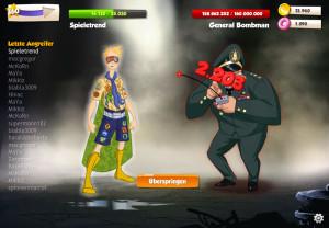Hero Zero Schurke, General Bombman