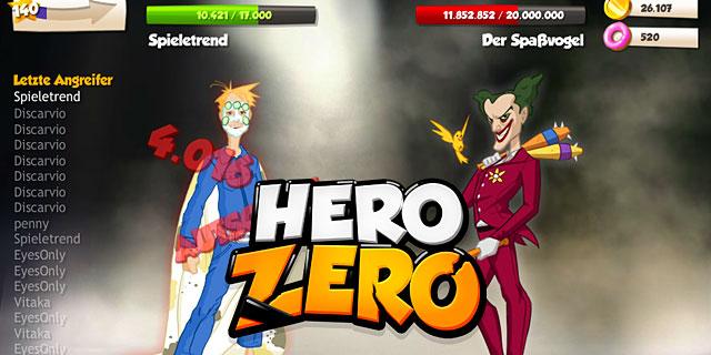 Hero Zero Schurken im Browsergame