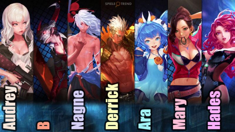 HeroWarz Charaktere / Klassen