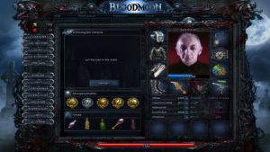 Ein gruseliger Bloodmoon Spieler