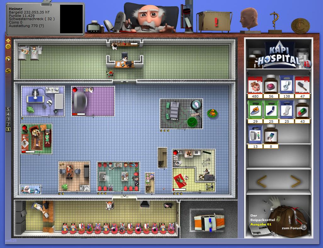 krankenhaus spiele kostenlos spielen