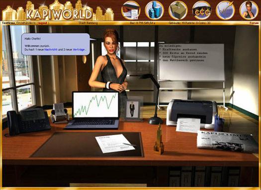 Kapiworld Server 2 im Browsergame online