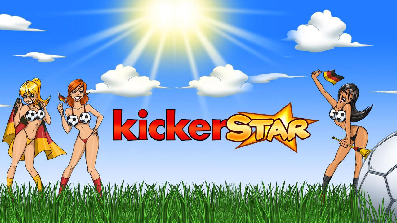 Kickerstar, das coole Fußball-Game