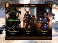 Die Klassen im Free2Play MMORPG KingsRoad
