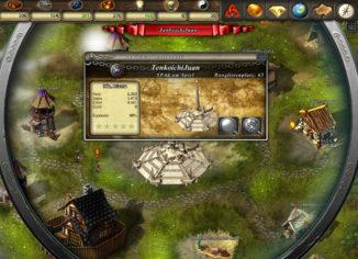 Kolonien erobern und Weltwunder erbauen (Cultures Online Screenshot)