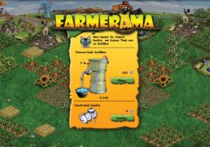 Pflanzen gießen im kostenlosen Bauernhof Spiel
