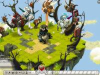 Kostenloses Anime-Game, die Welt von Wakfu