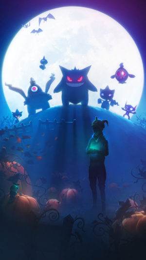 Pokémon GO Halloween Gen 3 Ladescreen