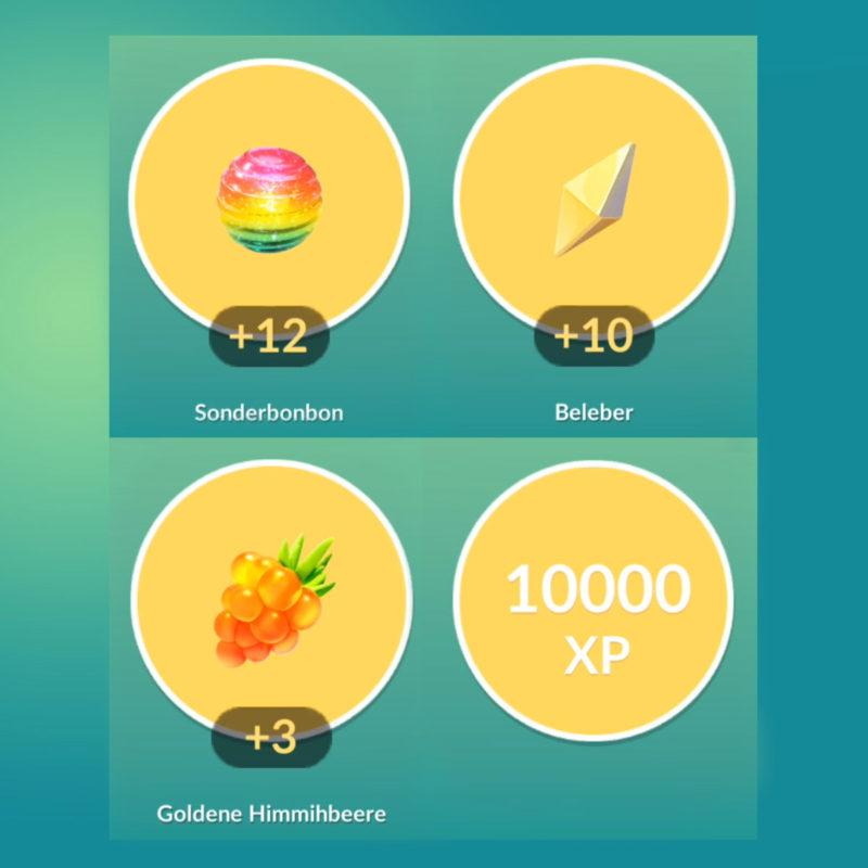 Raid-Belohnung: Sonderbonbons