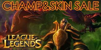 League of Legends: Unangekündigter Sale