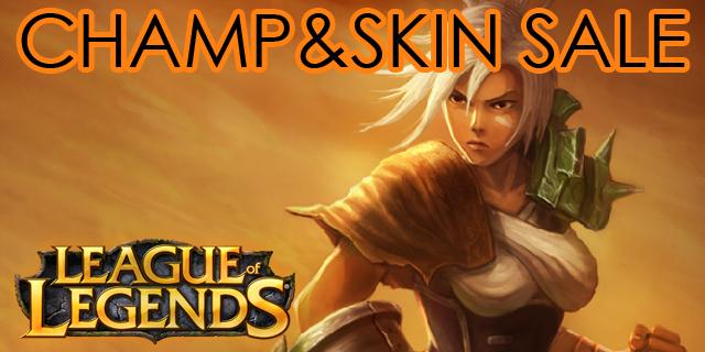 League of Legends: Champ & Skin Sale am zweiten April-Wochenende