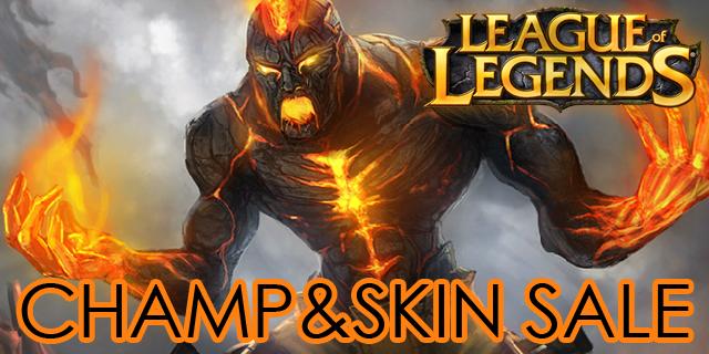League of Legends: Brand im Champion-Sale