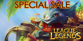 League of Legends: Special Sale - Halber Preis