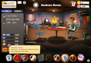 Browsergame Hero Zero kostenlos online spielen