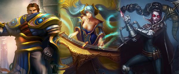 League of Legends: Helden in Aktion