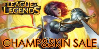 League of Legends: Legendary Champion und Skin Sale