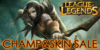 League of Legends: Woad-Ashe im Champ & Skin Sale