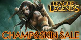 League of Legends: Woad-Ashe im Champ & Skin Sale