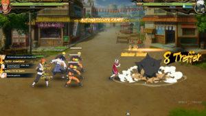 Kampf im Manga Onlinespiel