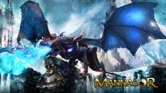 Mannagor, Onlinespiel mit Drachen