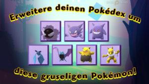 Mehr Pokémon zu Halloween