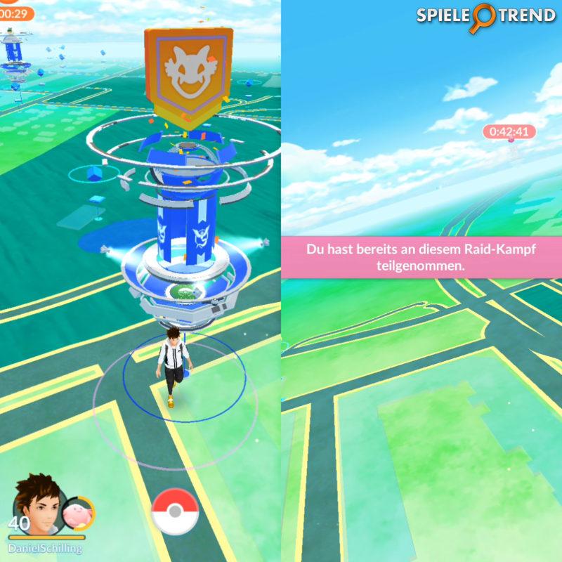 Pokémon GO Raid Gym Arena