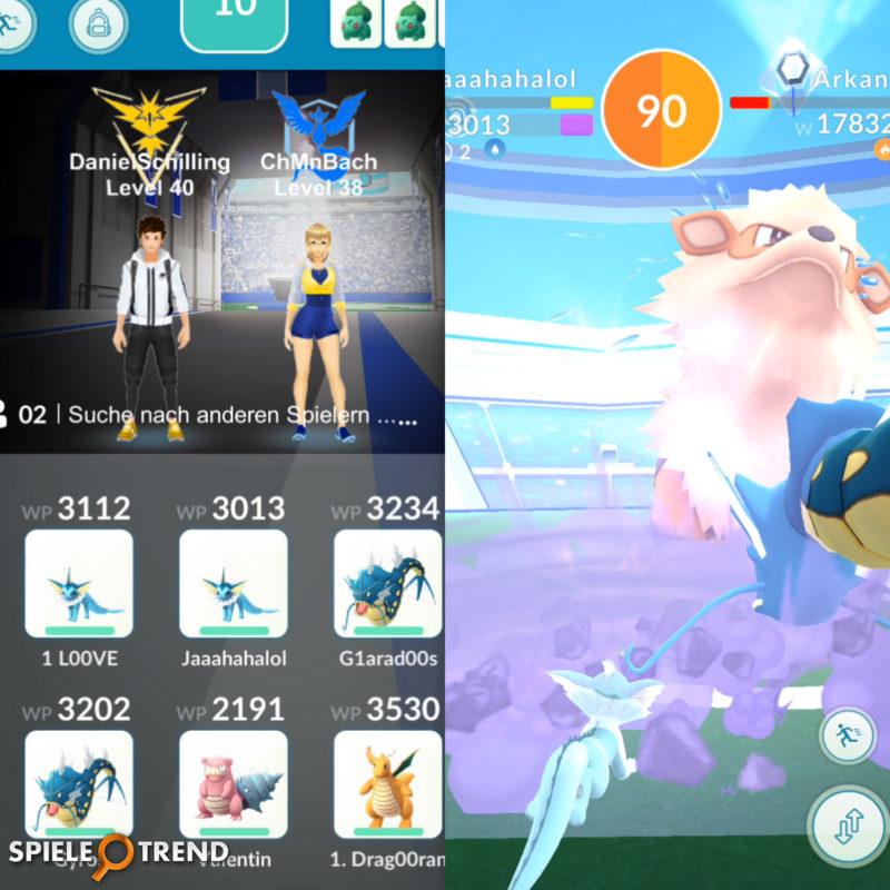 Garados Pokémon GO Raid