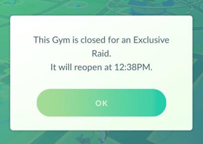 Exclusive Gym Raid