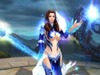 Babe aus einem MMORPG