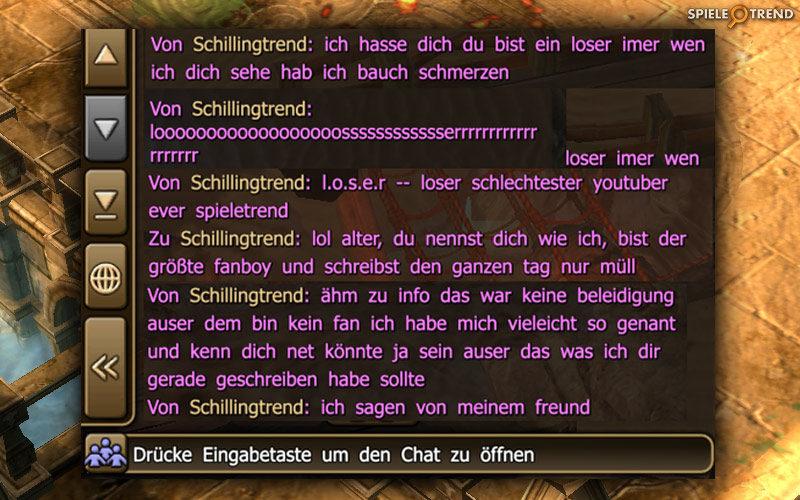 Lustiger MMORPG Chat