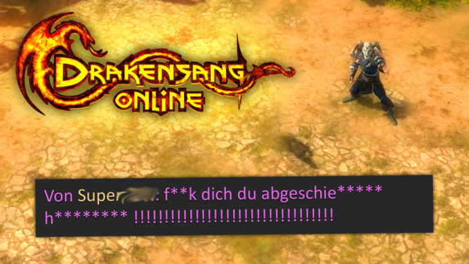 Lustiger Chat in MMORPG Spielen (DSO)