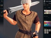 Charaktererstellung im MMORPG Vindictus