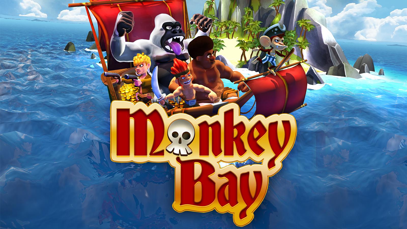 Monkey Bay, die kostenlosen Piraten Games