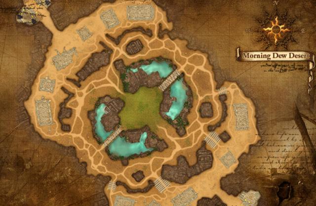 Umstrittenes Gebiet: Morgentauwüste in Archlord 2