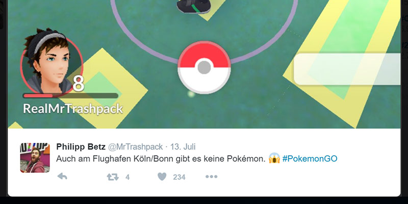 MrTrashpack spielt Pokémon GO