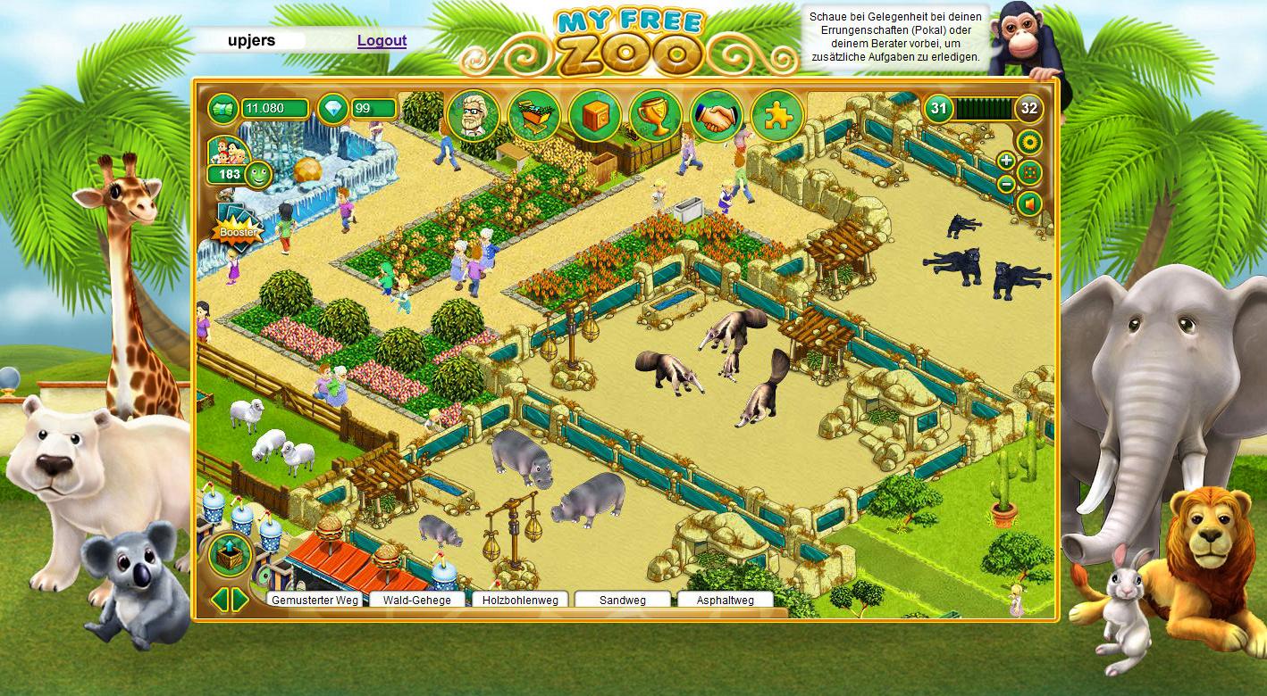 zoo spielen