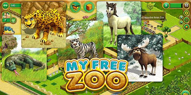 Neue Tiere im My Free Zoo Online Spiele Browsergame