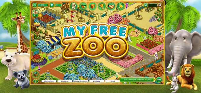 My Free Zoo Browserspiele Simulation geht online