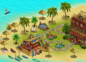 My Sunny Resort Game