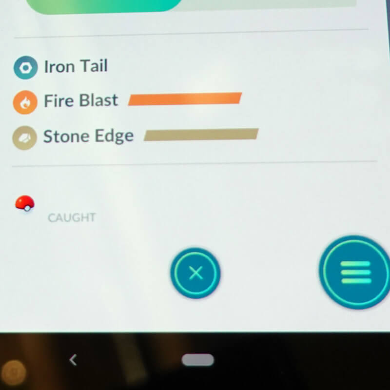 Charge Move in Pokémon GO