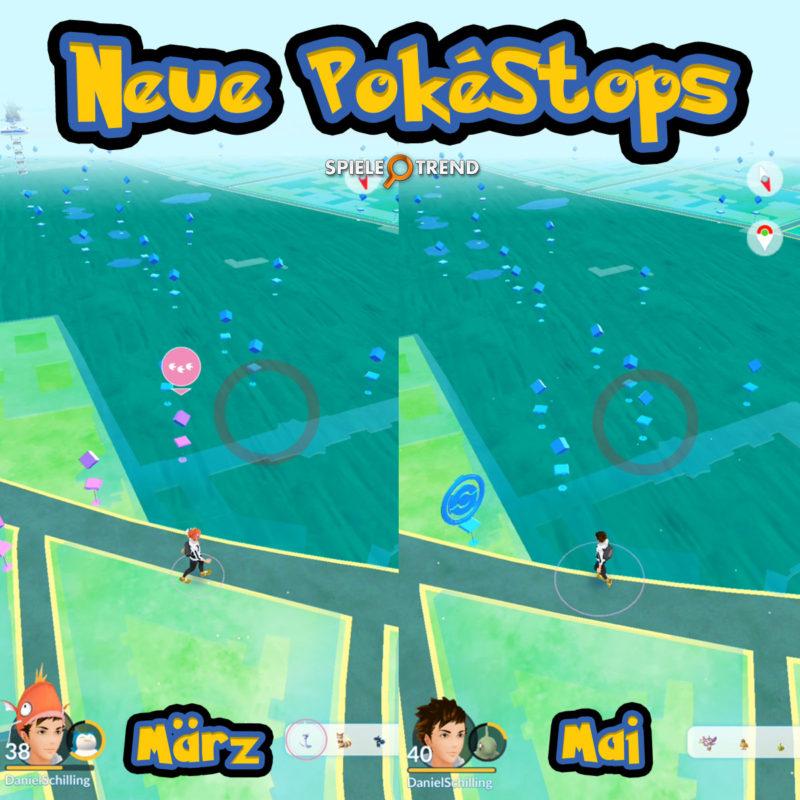 Neuer PokéStop in Pokémon GO