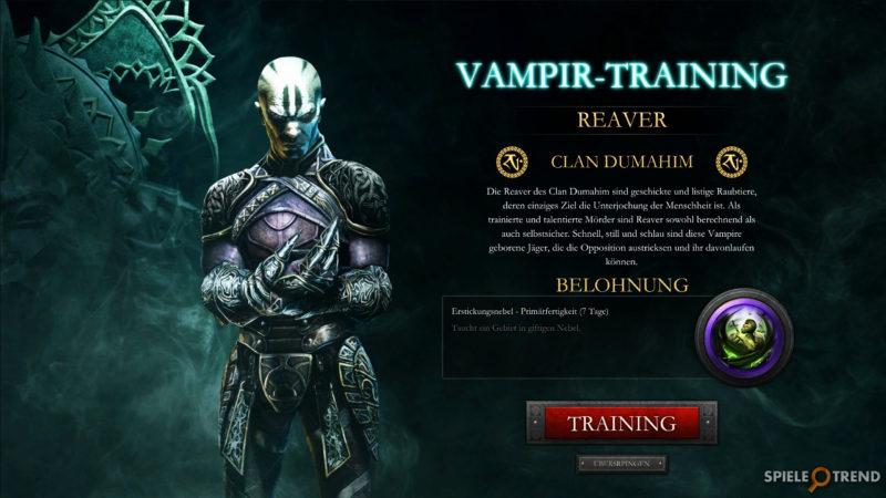 Nosgoth Onlinespiel Vampir