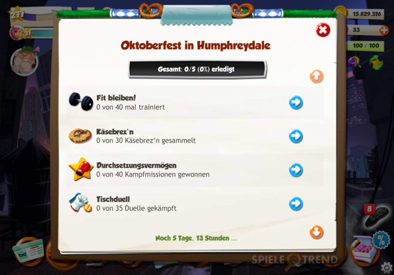 Oktoberfest im Browsergame