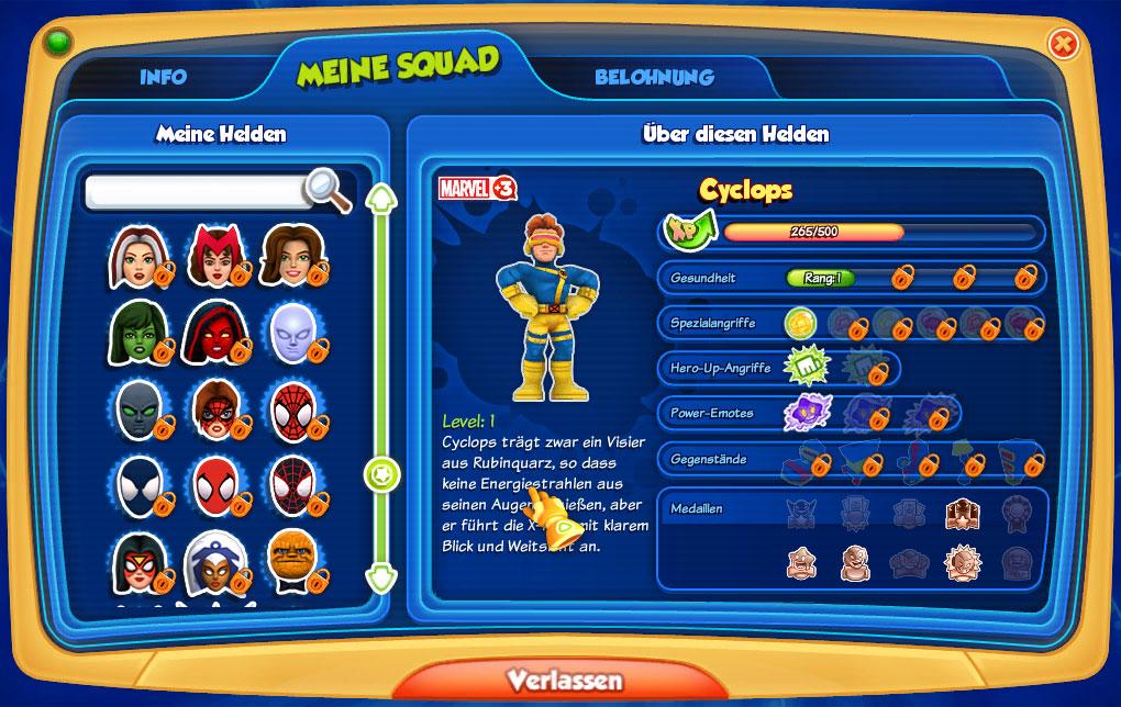 super hero squad online spielen